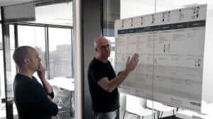Customer journey map discussion